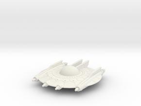 Selenite Annihilator Saucer in White Natural Versatile Plastic