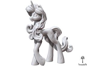Rarity My Little Pony (Plastic, 8.4 cm tall) in White Natural Versatile Plastic