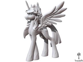 Twilight Sparkle MLP (Plastic, 8.5 cm tall) in White Natural Versatile Plastic
