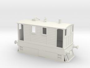 B-87-y6-tram-loco-1 in White Natural Versatile Plastic