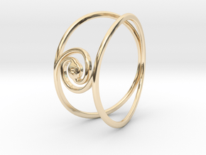 The Golden Ratio Ring in 14K Yellow Gold: 4 / 46.5