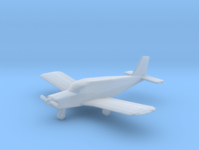 1:400 scale Piper PA28 Cherokee in Smooth Fine Detail Plastic: 1:400