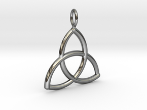 Trinity in Fine Detail Polished Silver