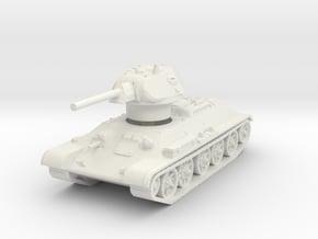 T-34-76 1942 fact. STZ mid 1/120 in White Natural Versatile Plastic