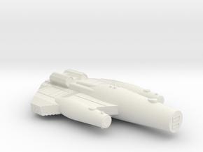 3788 Scale ISC Heavy War Cruiser (HCW) SRZ in White Natural Versatile Plastic
