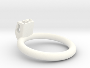 Cherry Keeper Ring G2 - 50mm Flat +7° in White Processed Versatile Plastic