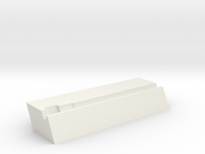 Docking station for LILYGO® T5 4.7 (PH2.0 holder) in White Natural Versatile Plastic