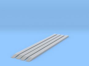 4x 200mm w ramps - T - 1:450 in Smooth Fine Detail Plastic