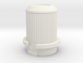 E2 Tamiya Dyna Balster / Dyna Storm gearcover plug in White Natural Versatile Plastic