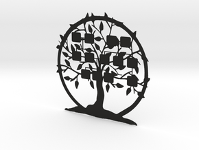 3D Family Tree in Black Natural Versatile Plastic