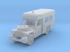 Land Rover Santana 109 Ambulancia H0 in Smooth Fine Detail Plastic