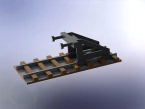 Bumper Stop / Prellbock 1/285 6mm in Smooth Fine Detail Plastic