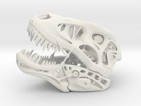 Terminator REX (small scale) in White Natural Versatile Plastic
