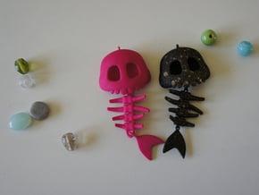 Mermaid Bone in Pink Processed Versatile Plastic