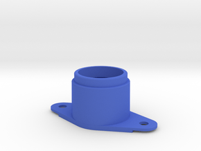 Early Pinball Button Housing #C904 in Blue Processed Versatile Plastic