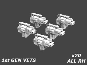 41016 Deathvigil Firstborn Thunder Bolters x20 in Smooth Fine Detail Plastic