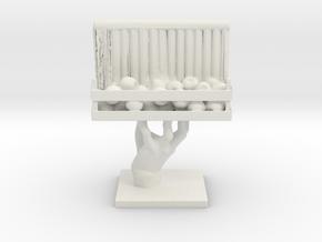 Cosmiton Visions HT 001 in White Natural Versatile Plastic