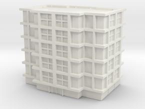 Residential Building 03 1/700 in White Natural Versatile Plastic