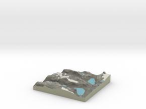 Terrafab generated model Sun Aug 17 2014 23:32:00  in Full Color Sandstone