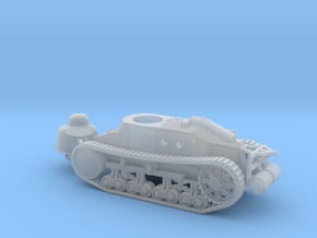 1/72nd scale Renault NC2 casted gun turret in Smooth Fine Detail Plastic