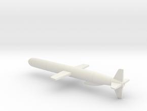 BGM-109 Tomahawk Cruise Missile in White Natural Versatile Plastic: 1:72