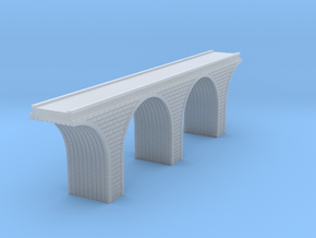 Z Scale Arch Bridge Double Track 1:220 Scale in Smooth Fine Detail Plastic