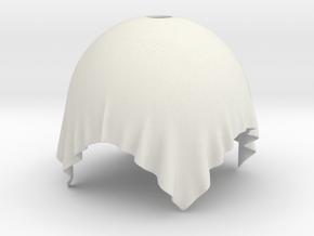 Cloth Lamp in White Natural Versatile Plastic