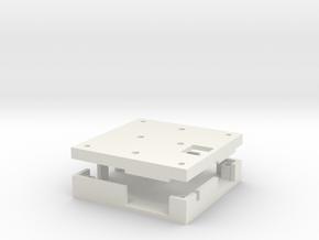 Storm32 V1.1 WiteSpy Case (Angled Pin Header) in White Natural Versatile Plastic