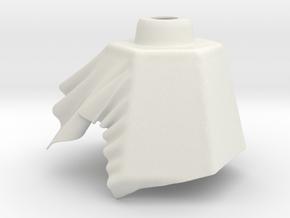 Cloth lamp 4 in White Natural Versatile Plastic