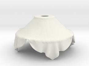 Cloth lamp n 5 in White Natural Versatile Plastic