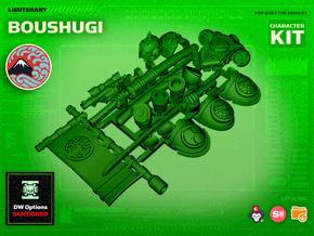 Character Kit: Lt. Boushugi in Smooth Fine Detail Plastic