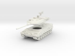 MG100-G03 Leopard2A6 in White Natural Versatile Plastic
