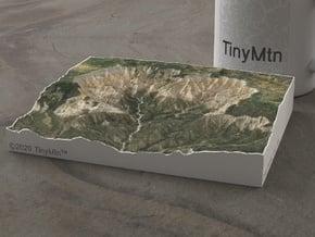 Cedar Breaks, Utah, USA, 1:50000 in Natural Full Color Sandstone