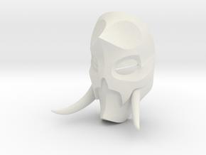 Konahrik Dragon Priest Mask (Smooth) in White Natural Versatile Plastic