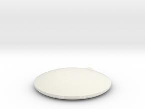 Naza Lite GPS Top Shell  in White Natural Versatile Plastic