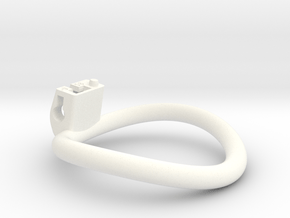 Cherry Keeper Ring G2 - 58mm -9° in White Processed Versatile Plastic