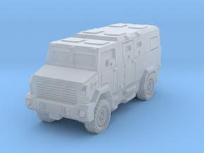 Money truck SET Unimog armored in Smoothest Fine Detail Plastic: 1:160 - N