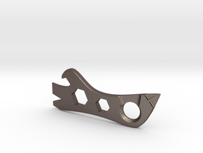 Multi-tool V1.2 in Polished Bronzed Silver Steel