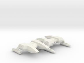 3125 Scale LDR Police Corvettes (2) CVN in White Natural Versatile Plastic