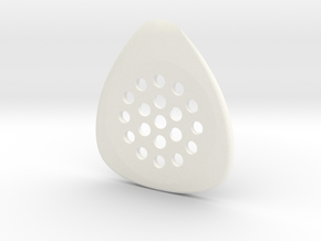 jazz pick 2.0mm  in White Processed Versatile Plastic