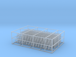 1/72 US Minesweeper Rail Set in Smooth Fine Detail Plastic