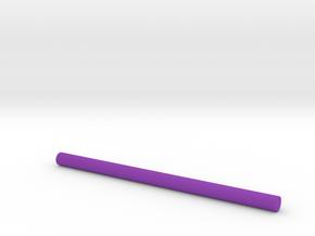 Laser beam color in Purple Processed Versatile Plastic