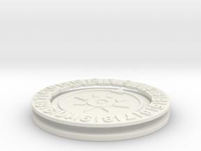 Digimon Memory Dial in White Natural Versatile Plastic