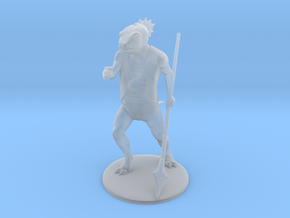 Troglodyte Miniature in Smooth Fine Detail Plastic: 1:60.96