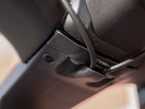 100mm BMC Switzerland ICS Aero Shift Wire Cover in Black PA12