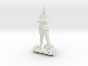 Printle T homme 068 - 1/32 in White Natural Versatile Plastic