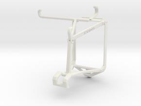 Controller mount for Shield 2017 & vivo S7t 5G - T in White Natural Versatile Plastic
