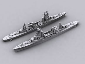 French CA Foch in White Natural Versatile Plastic: 1:1800