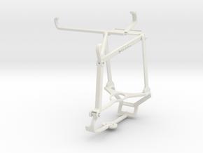 Controller mount for Steam & Tecno Spark 7 - Top in White Natural Versatile Plastic