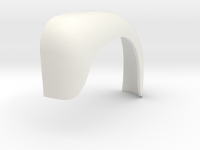 Fenders-B61-LH-outer-shell-1to8 in White Natural Versatile Plastic